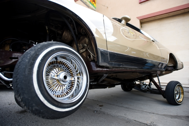 The 17th annual Blessing of the Lowriders was held at livernois Ave. and Otis in Southwest Detroit to bless the custom cars before the start of cruising season on Sunday May 3, 2015. (Tanya Moutzalias | MLive Detroit)