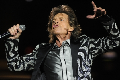 The Rolling Stones gave it their all during their performance at Comerica Park in Detroit Wednesday night during their 2015 Zip Code Tour, July 8, 2015. (Tanya Moutzalias | MLive Detroit)