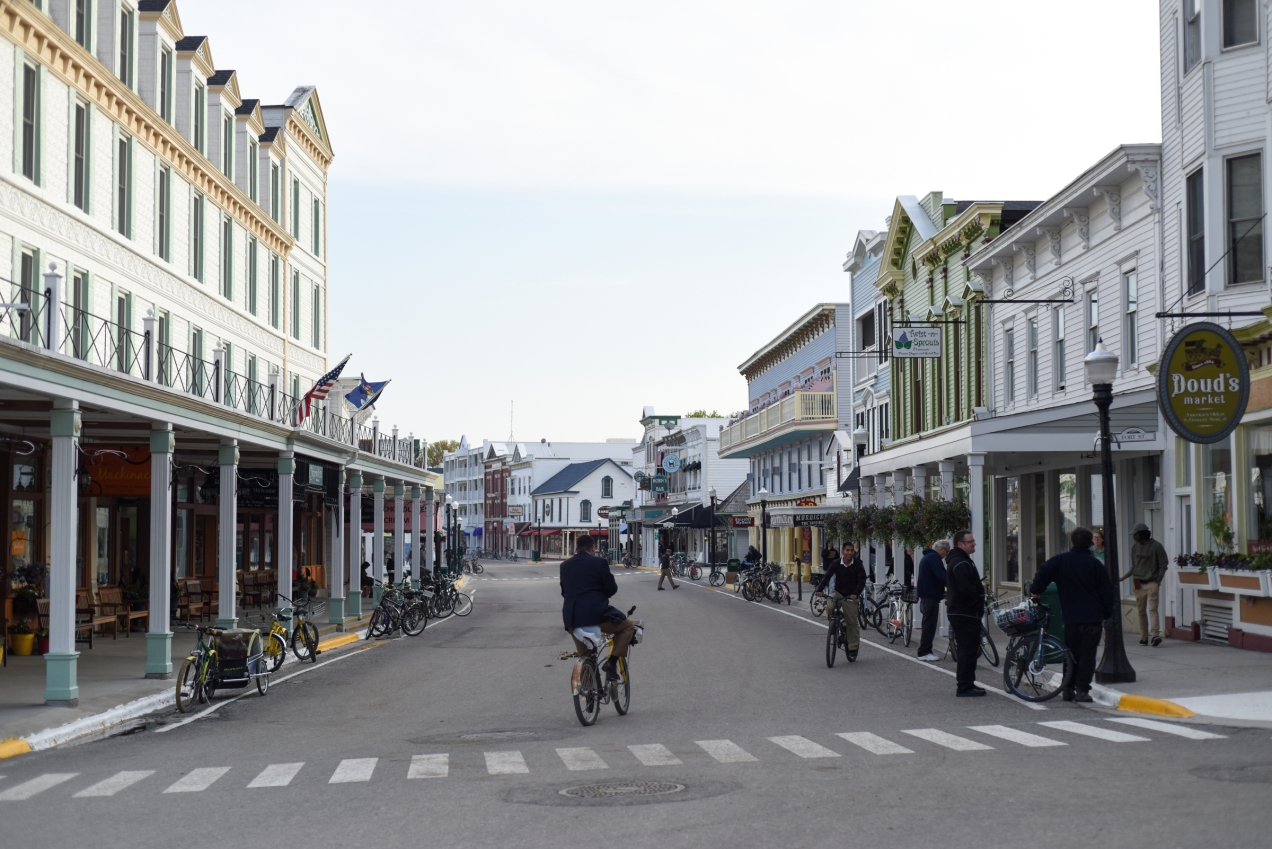 Downtown Mackinac Island. (Tanya Moutzalias | MLive Detroit)
