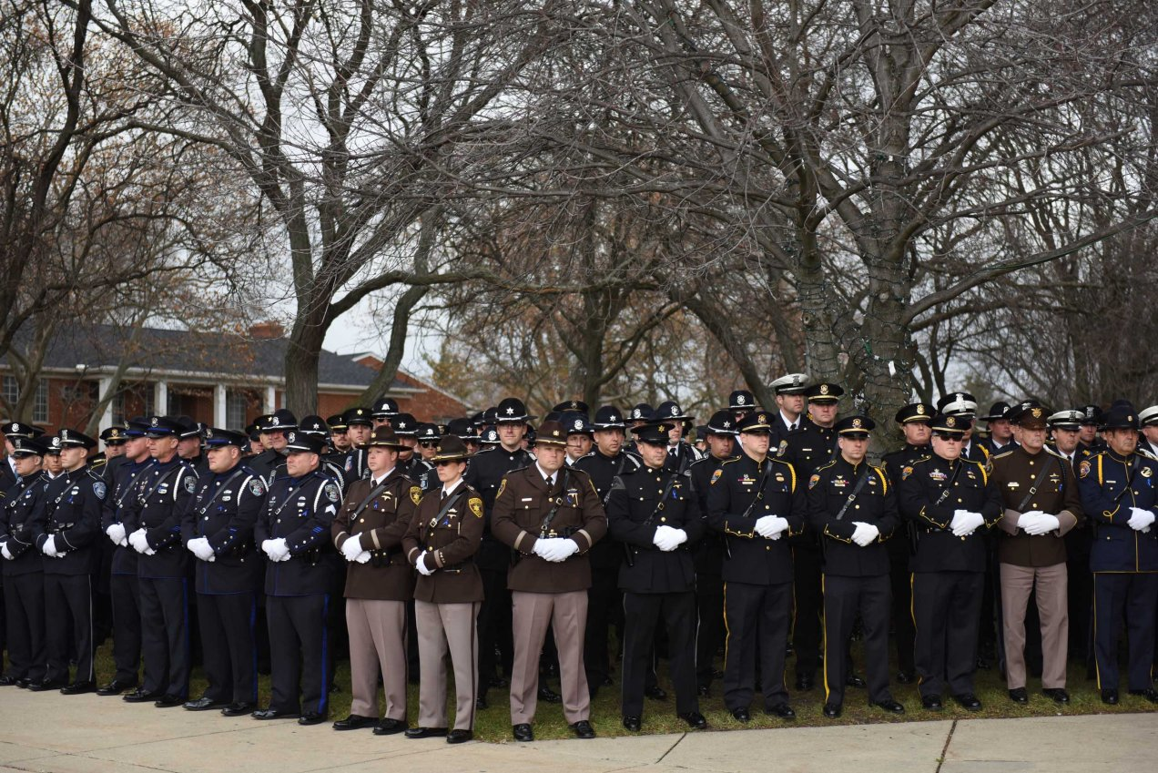 Officer Rose funeral