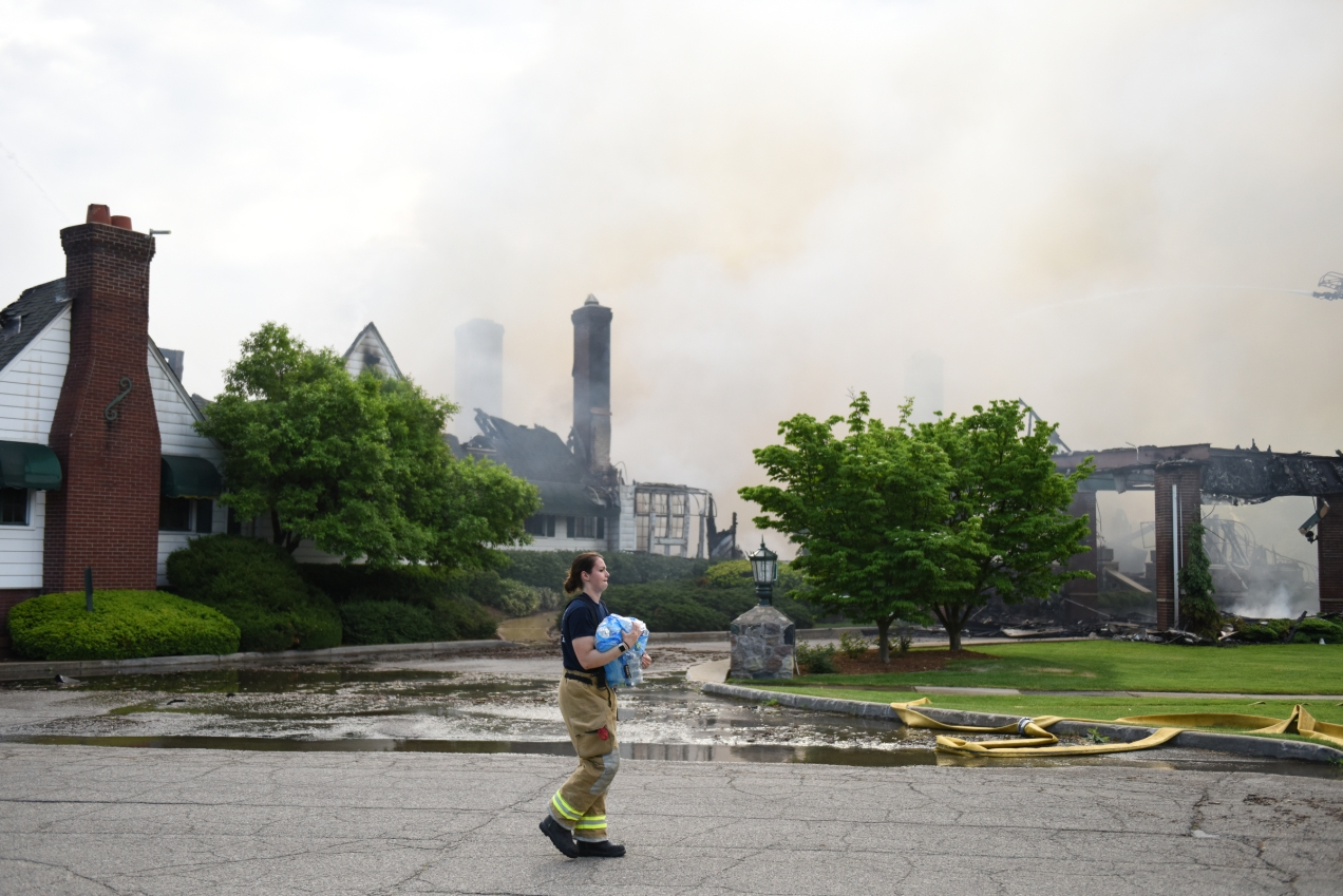 Fire at Western Golf and Country Club--June 1, 2018