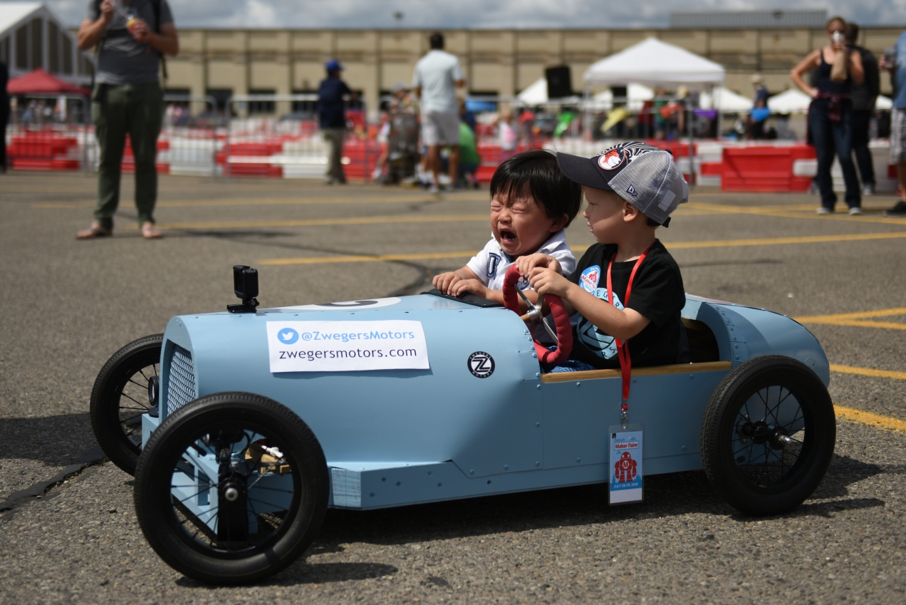 Maker Faire--July 28, 2018